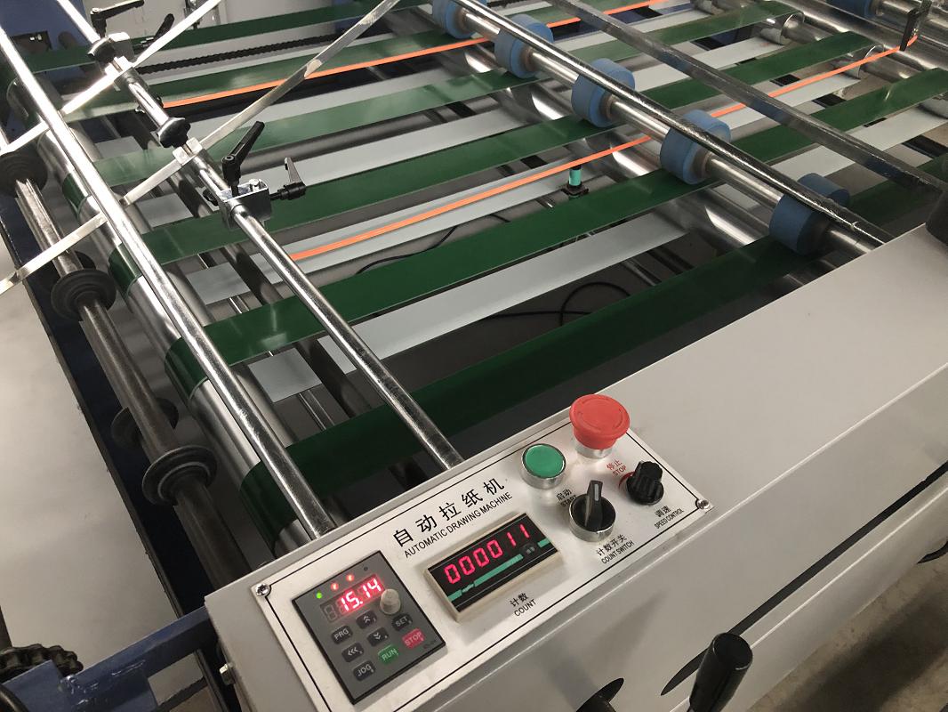 Automatic sheet separating machine