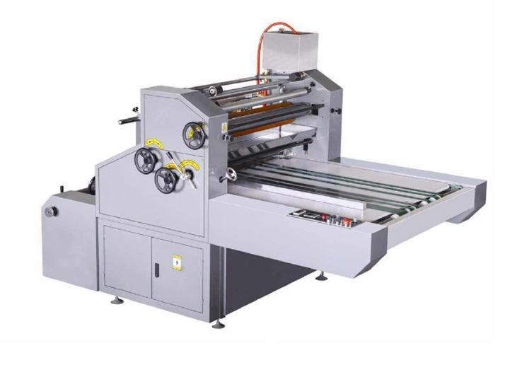 manual window paper film laminating machine